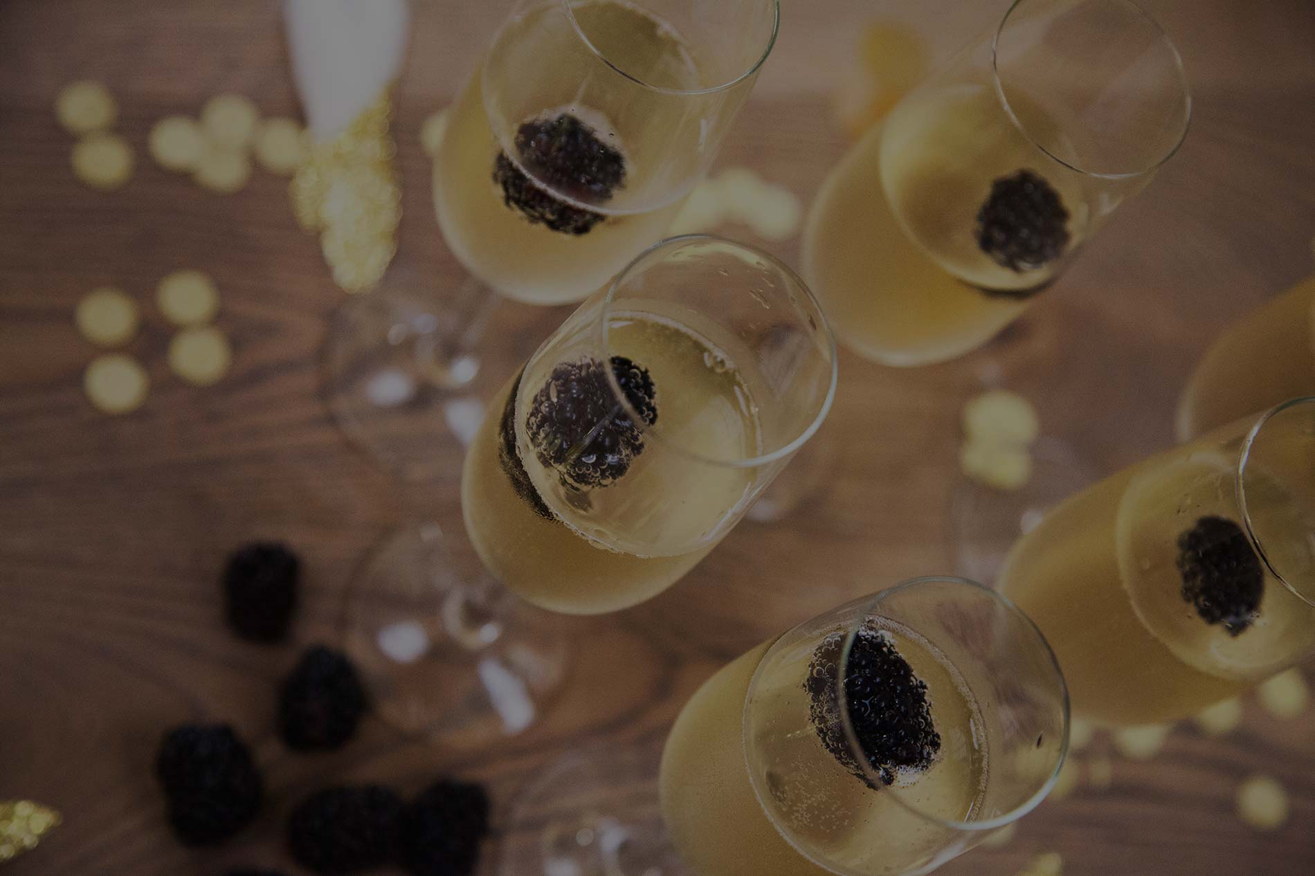 Champagne tijdens een event